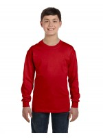 Gildan #G540B  Gildan Youth Heavy Cotton™ 5.3 oz. Long-Sleeve T-Shirt